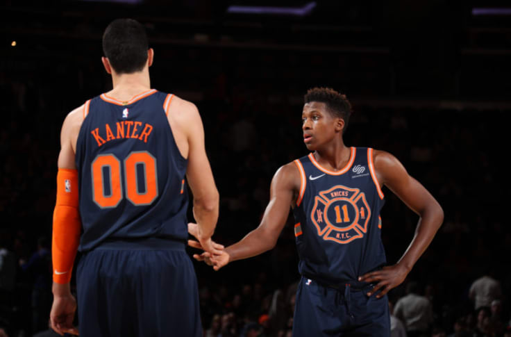New York Knicks Reviewing The City Edition Jerseys