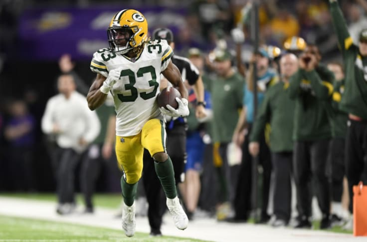 Green Bay Packers Signs Continue To Point To A Aaron Jones Extension