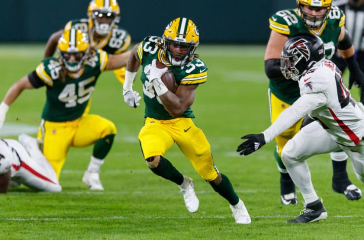 Green Bay Packers Aaron Jones Game Time Decision For Sunday