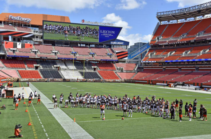 Christmas At Firstenergy Stadium 2020 Cleveland Browns will have fans in stadium to begin 2020 season