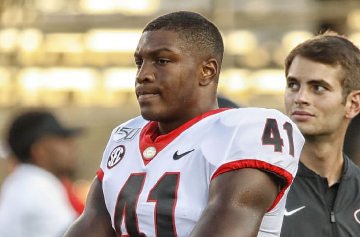 Uga Football Roster Channing Tindall Is The Next Man Up At Inside Linebacker
