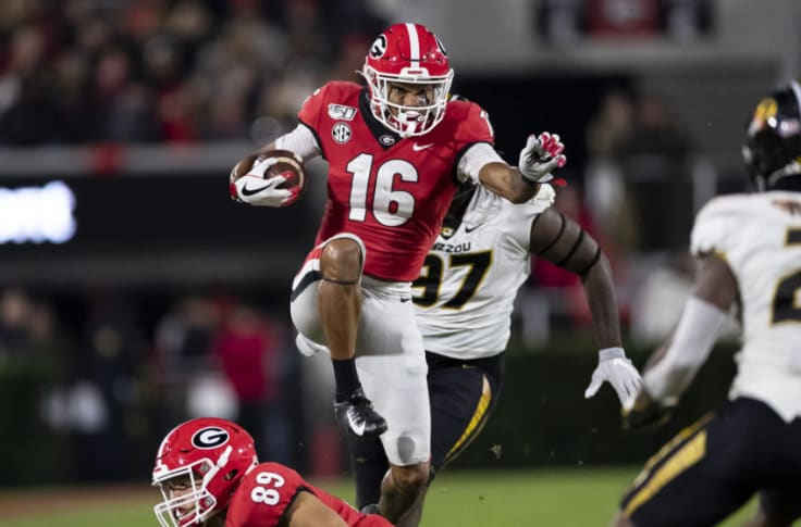 Uga Football Roster Demetris Robertson Will Soar In Georgia S New Offense