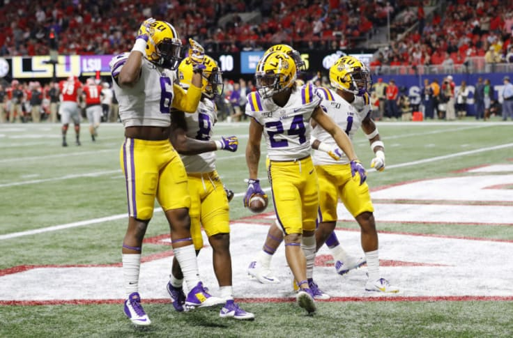 Lsu Football Sec Network Analyst Pays Derek Stingley Huge Compliment