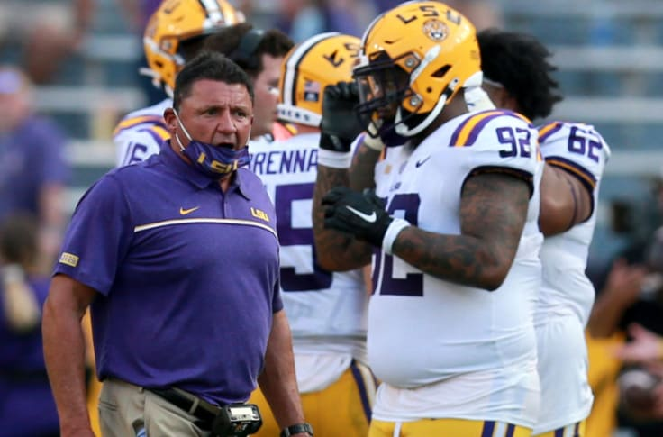 Offensive Player Has Perfect Response To Lsu Football S Loss
