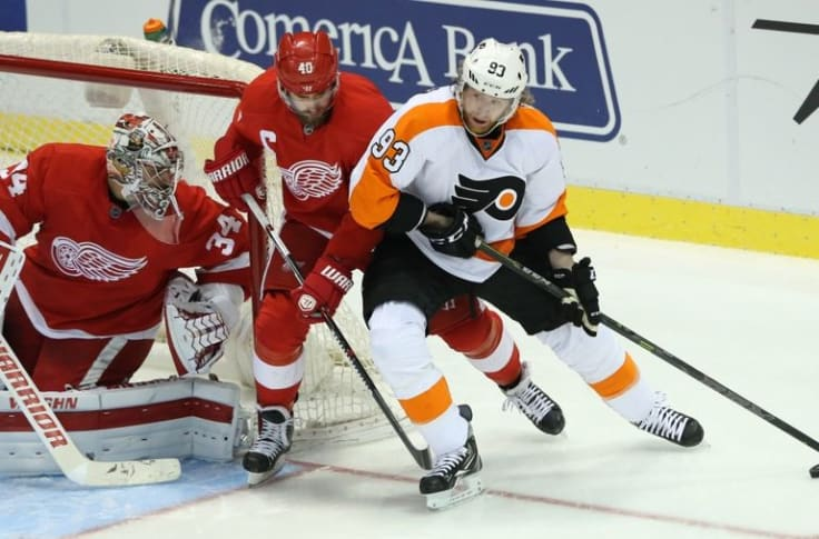 Detroit Red Wings At Flyers Game Time Tv Radio Live Stream