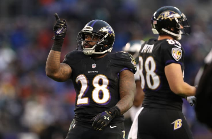 Baltimore Ravens A Look At The First Depth Chart