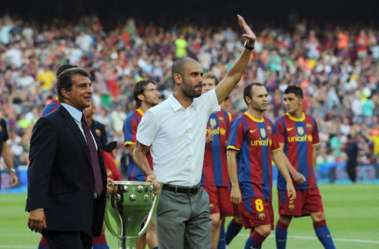 Man City winning UCL could ensure Guardiola-Barcelona reunion