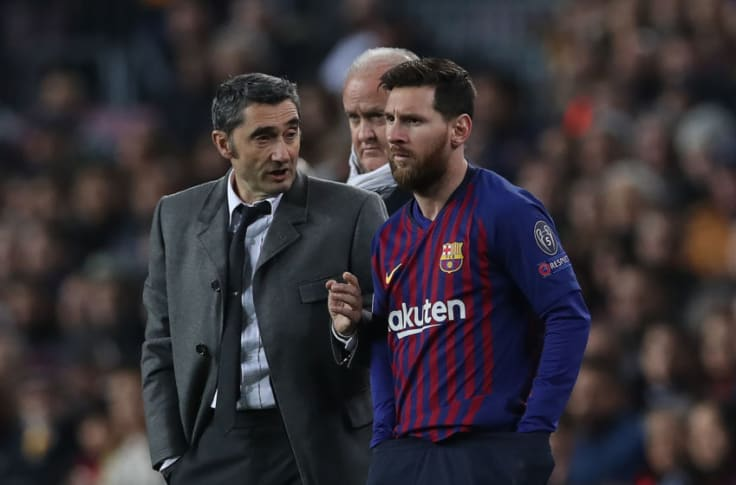 Barcelona Lionel Messi Wants Ernesto Valverde To Stay On As Manager