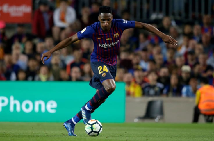 Yerry Mina Gets Well Deserved Second Chance At Barcelona