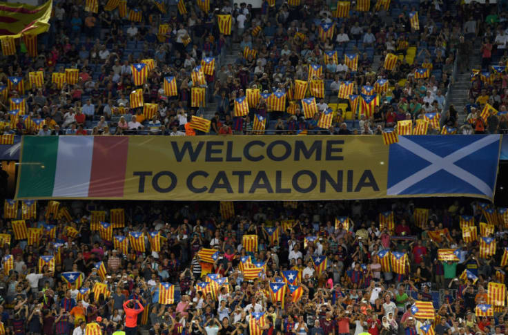 fc barcelona publicly establishes its support for catalonia fc barcelona publicly establishes its