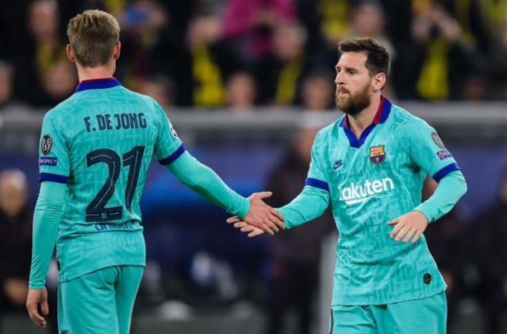Frenkie De Jong Reveals Lionel Messi S Influence At Barcelona