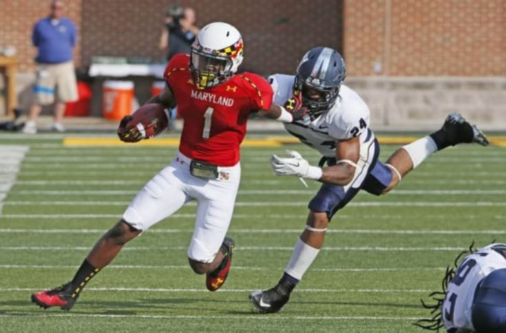Maryland S Stefon Diggs Compared To Ted Ginn Jr