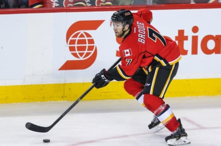 Calgary Flames Sign T J Brodie To Five Year Extension