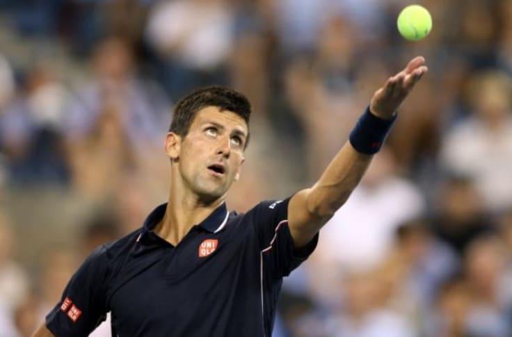 Novak Djokovic Scares Ball Boy Video