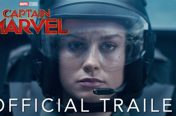 Captain Marvel Trailer Why Does Carol Punch An Old Lady Blame Skrulls