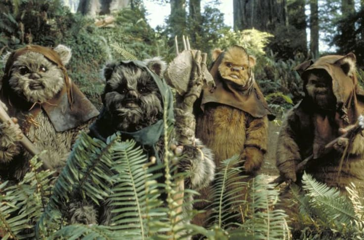 Ewoks Are Just Survivalist Care Bears Living On A Forest Moon