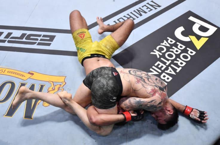 UFC 252: Daniel Pineda upsets, dominates Herbert Burns on the ground