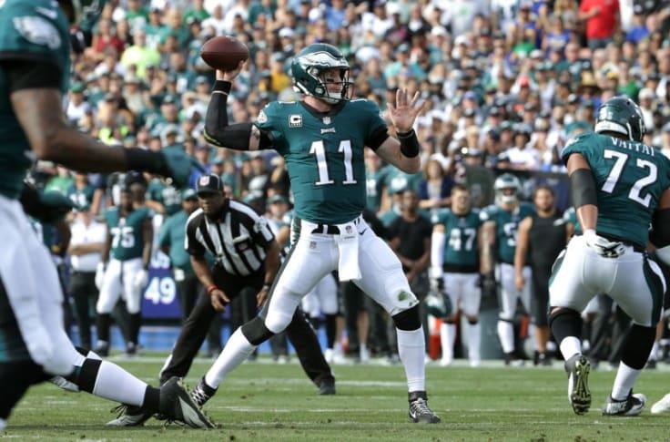 Carson Wentz Injury Update Eagles Qb Leaves Week 14 Early