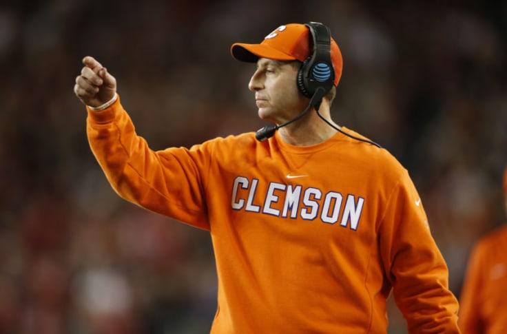 Clemson Football Coach Dabo Swinney Silent Amid George Floyd Protests