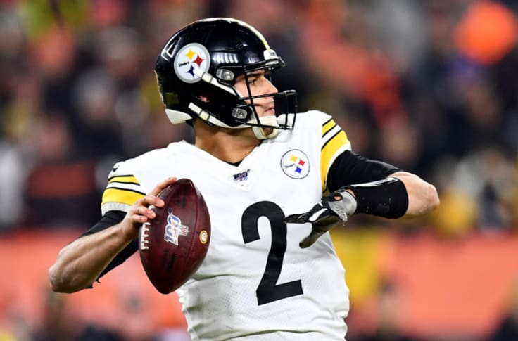 Mason Rudolph Is Clearly Not The Steelers Quarterback Of The Future