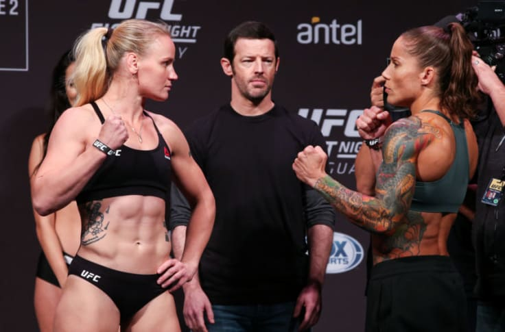 Female fighters ufc The Top
