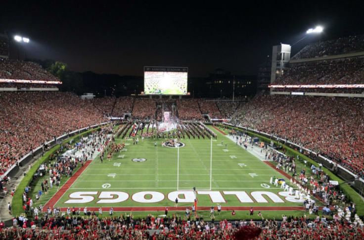 Ranking The 10 Biggest College Football Stadiums By Seating Capacity