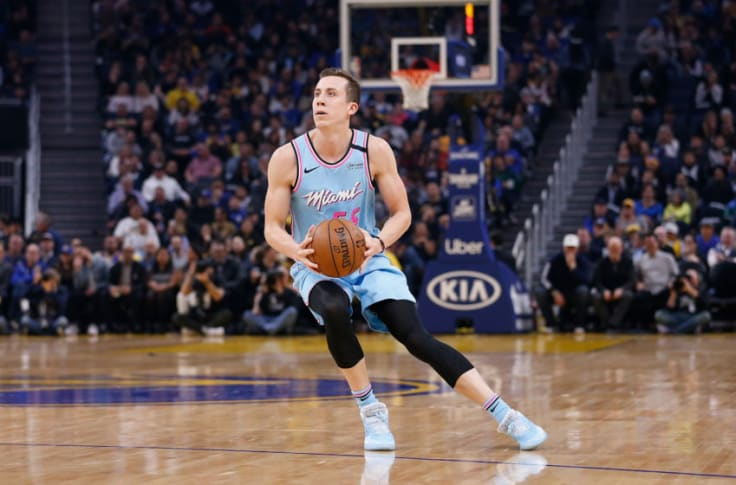 Duncan Robinson Is An Absolute Flamethrower In His First Game Back