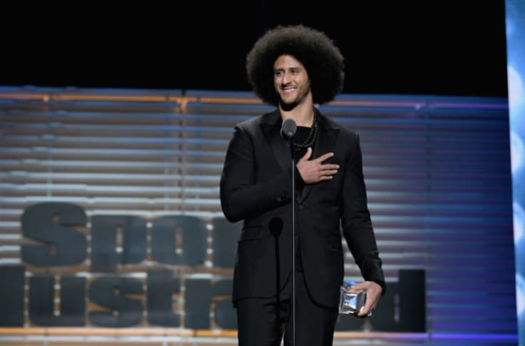 Colin Kaepernick Signs Production Deal With Espn Films