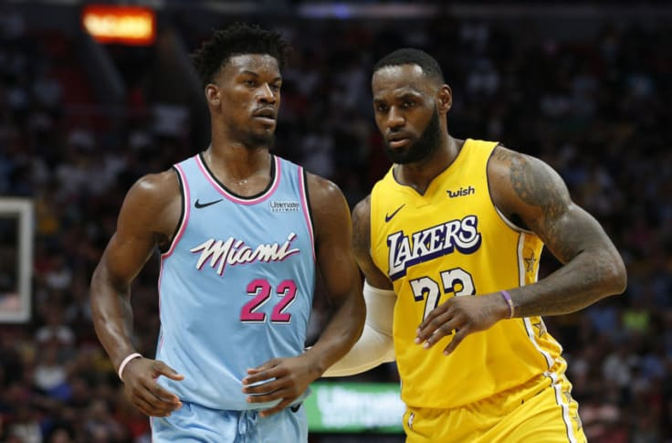 Jimmy Butler praises LeBron James before meeting in NBA finals