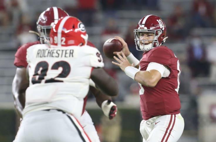 College Football Rankings Week 7 Top 25 Clemson Or Alabama At No 1