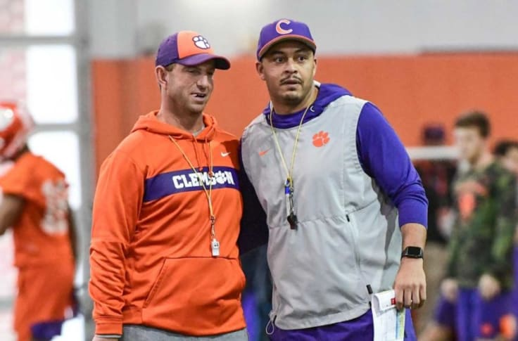 Auburn Football Coaching Search Targeting Pair Of Clemson Assistants