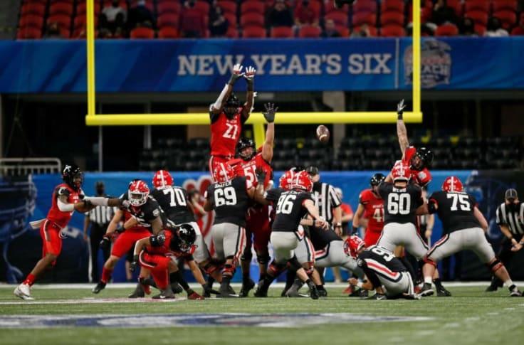 College football media stunned by Georgia's comeback win in Peach Bowl