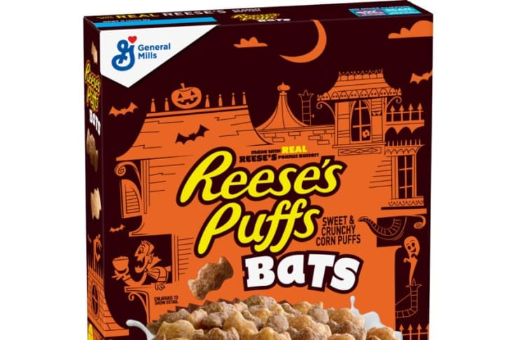 Halloween Cereals 2020 REESE'S PUFFS Bats and Monster Cereals bring seasonal fun to breakfast