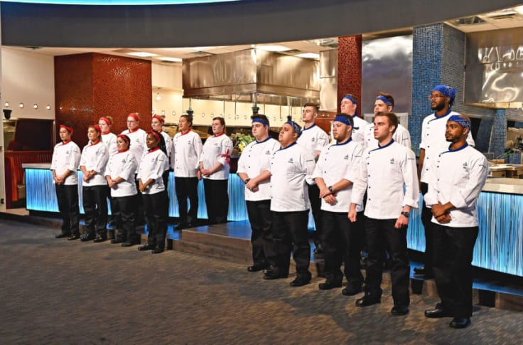 Hell S Kitchen Young Guns Premiere Young Chefs Are Ready To Make An Impression