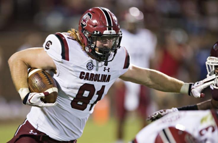 South Carolina football: Hayden Hurst has big day for Atlanta