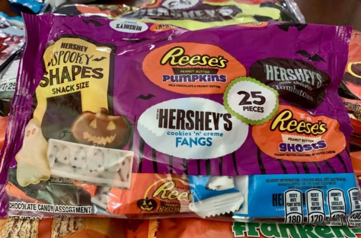 Rank The Best Halloween Candy 2020 Ranking Hershey's fall and Halloween candy and chocolates