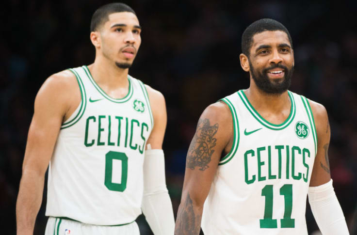 Boston Celtics What Does Jayson Tatum Think Of Kyrie Irving These Days