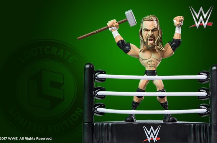 Stone Cold Steve Austin Slam Stars Figure Loot Crate Exclusive WWE Attitude Era
