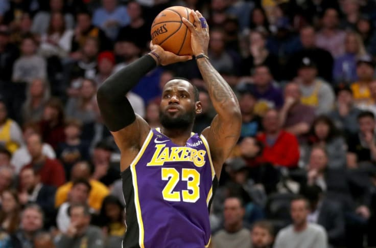 Los Angeles Lakers Is Lebron S Jump Shot The Key To A Championship