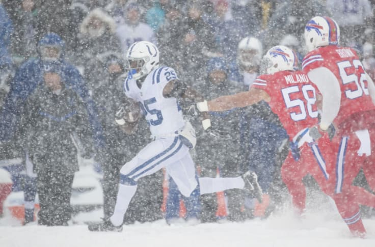 Colts Relive Insane Snow Game Vs Bills From 2017