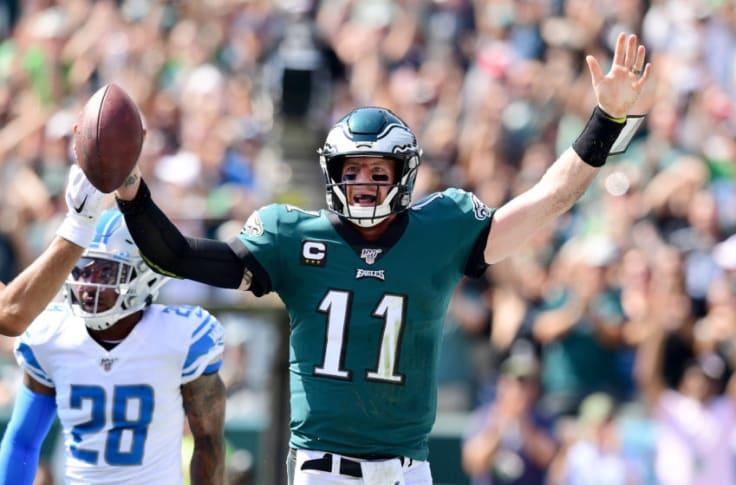 Pff Ranks Philadelphia Eagles Qb Carson Wentz As A Top 3 Passer