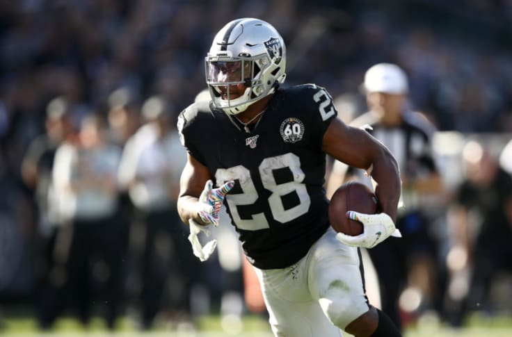 Oakland Raiders need all hands on deck with Josh Jacobs out