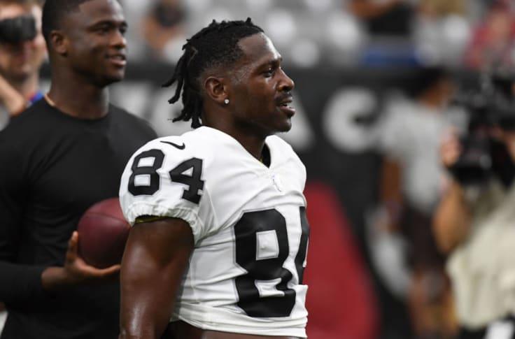 Oakland Raiders Antonio Brown To Be Suspended