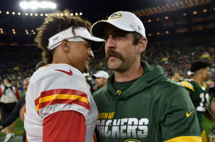Image result for rodgers and mahomes