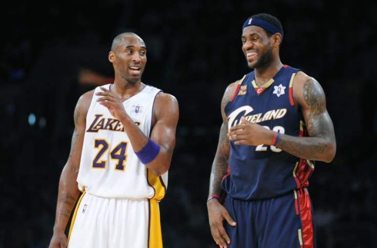 Los Angeles Lakers: One guy has played with Kobe Bryant, LeBron James