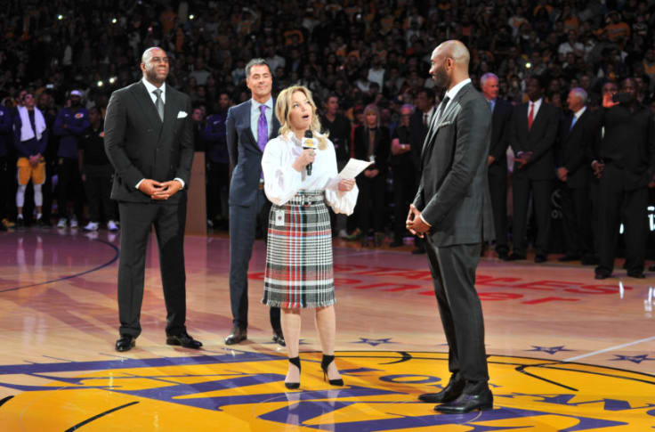 Los Angeles Lakers Jeanie Buss Wants Kobe Bryant To Have A Role