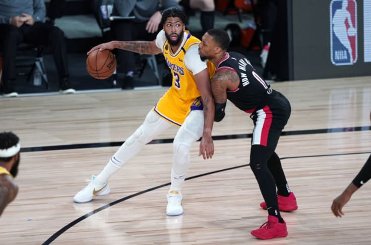 Los Angeles Lakers Portland Trail Blazers Prove They Belong