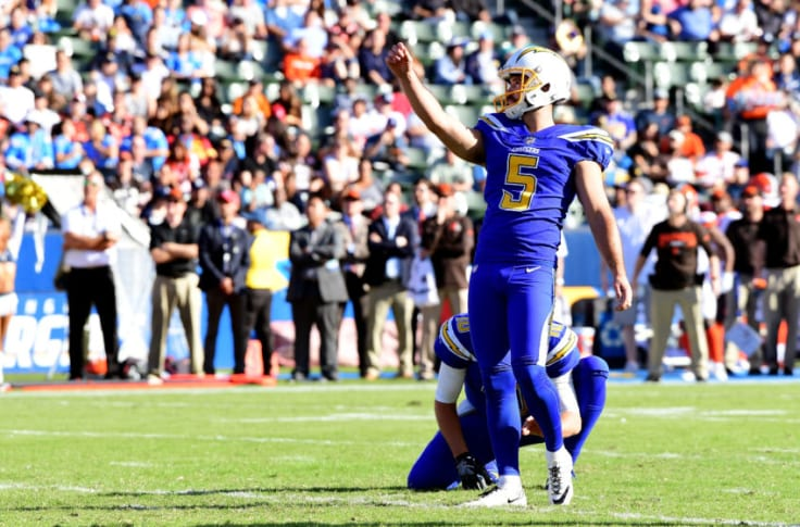 Los Angeles Chargers Drafting A Kicker Should Be Considered