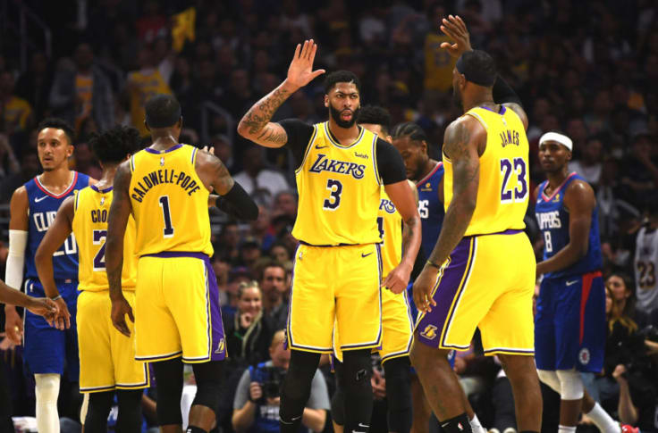 The Los Angeles Lakers Not Clippers Are The Nba S Best Defensive Team