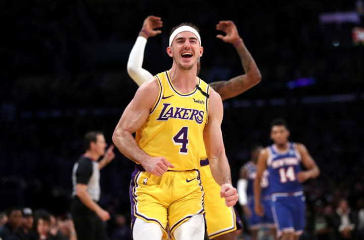 Los Angeles Lakers Is It Time For The Nba To Take Alex Caruso Seriously